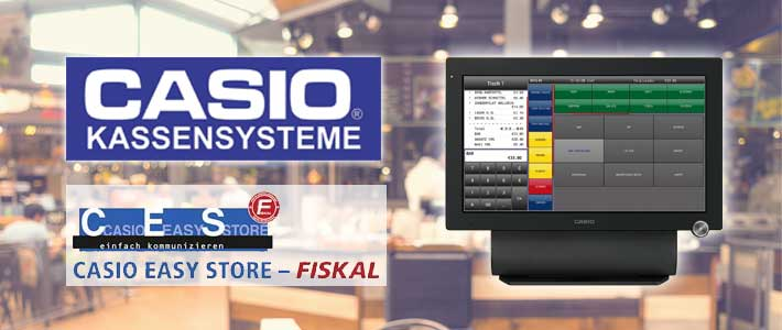 Fiskalschnittstelle für CASIO Easy Store Fiskal